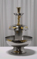 Rental store for Beverage,  Fountain 3 tiered w  Gold Tri in Portland OR