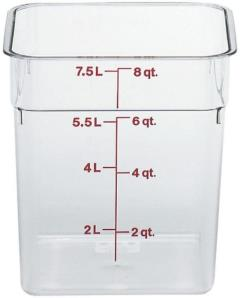 Rental store for Serving, Cambro Container 8 qt in Portland OR