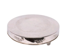 Rental store for Serving, Silver 22  Round Cake Stand in Portland OR