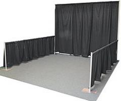 Rental store for Pipe   Drape 12  Tall in Portland OR